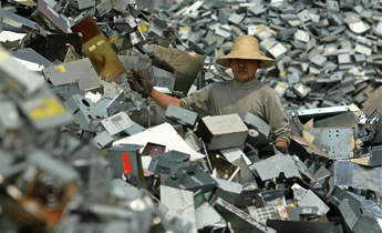 Index longgang ewaste pile worker meitu 1