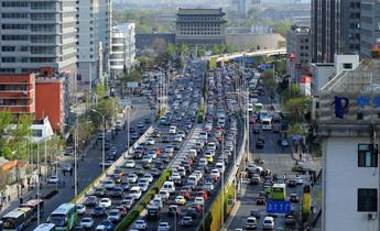 Aside bkk8p3  traffic jam in central beijing