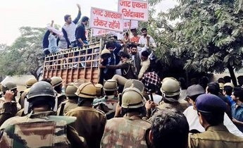 Index jats arrested during protest