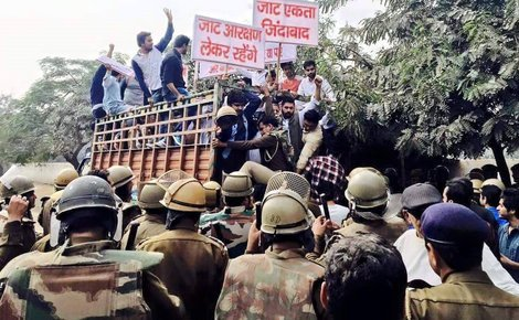 Sidebar jats arrested during protest
