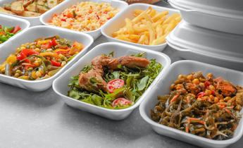 Aside t72pmw food delivery plastic food containers