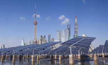 Aside thinkstockphotos 454985483   shanghai bund skyline landmark ecological energy renewable sola jeff hu