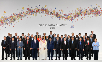 Aside g20 group pic 2019 meitu 5