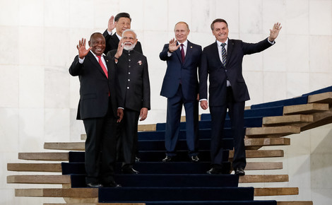 Sidebar brics leaders in brasilia