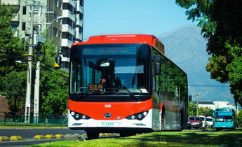 Index chile electric bus covid 19 green stimulus