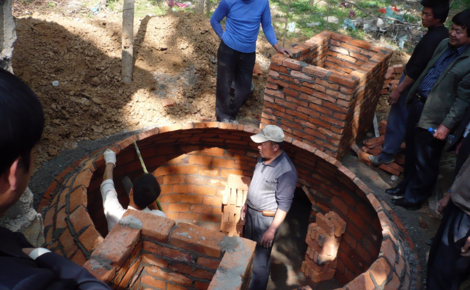 Sidebar china biogas digester training