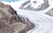 Aside switzerland glacier