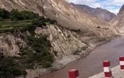 Aside nu river dam earthquake japan