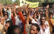Aside indian protest against jaitapur large