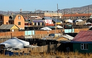 Aside mongolia gers shantytowns large