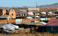 Index mongolia gers shantytowns large