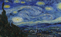 Index van gogh starry night