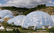 Aside 426 eden project geodesic domes panorama
