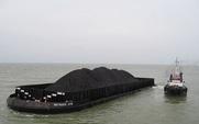 Aside coal ship