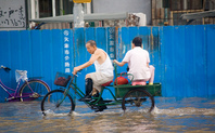 Index floods biker