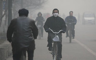Index air pollution linfen bicycle