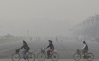Index beijing air pollution bike riders 1.12.13 by  miniharm