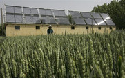 Aside 480 solar power   farmland