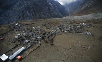 Aside fcttkm earthquakes in the himalayas regularly cause landslides