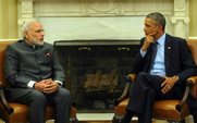 Aside pm modi and president obama