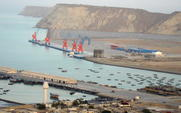 Aside gwadar port