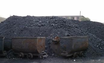 Aside coal cart