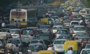 Aside trafficjamdelhi