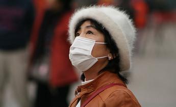 Index face mask smog