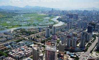 Aside shenzhen cbd and river