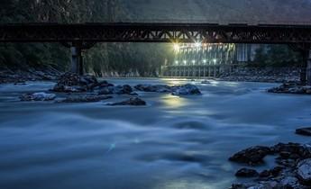 Aside the kali gandaki dam in nepal 1020x679