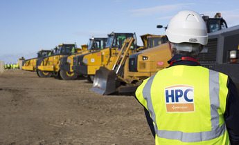 Aside the dumpers lined up at hpc   october 2014