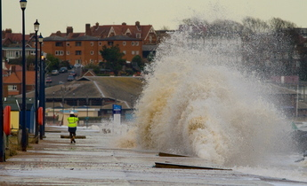 Aside storm surge photo by allan rabs