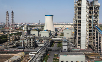 Aside gasitification power  plant in tianjin