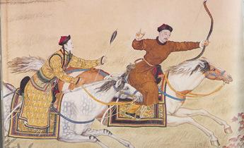 Aside qianlong emperor hunting