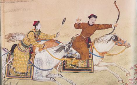 Sidebar qianlong emperor hunting