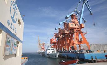 Aside hya53k gwadar port area in pakistan
