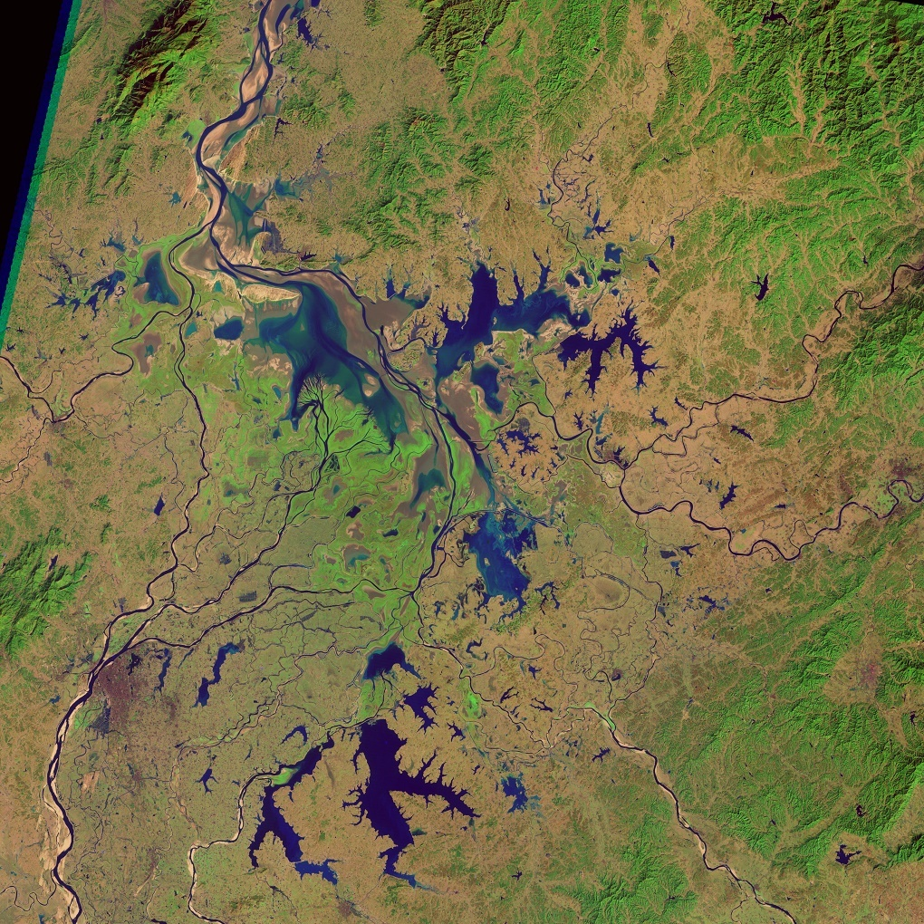 ​Poyang lake in 1995