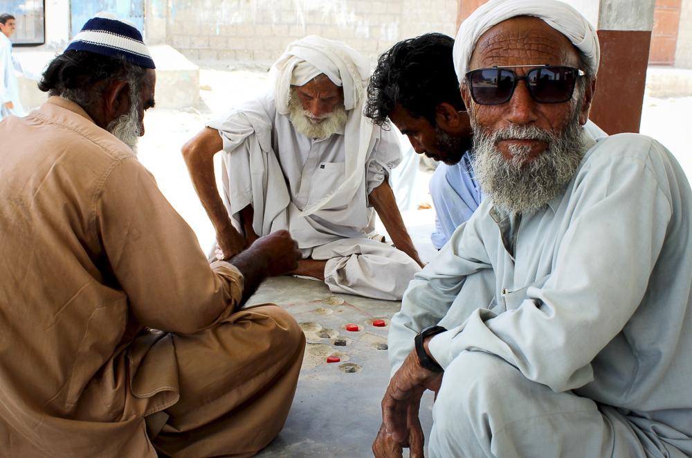 Fishermen in Sur Bandar (Image: Zofeen T Ebrahim)