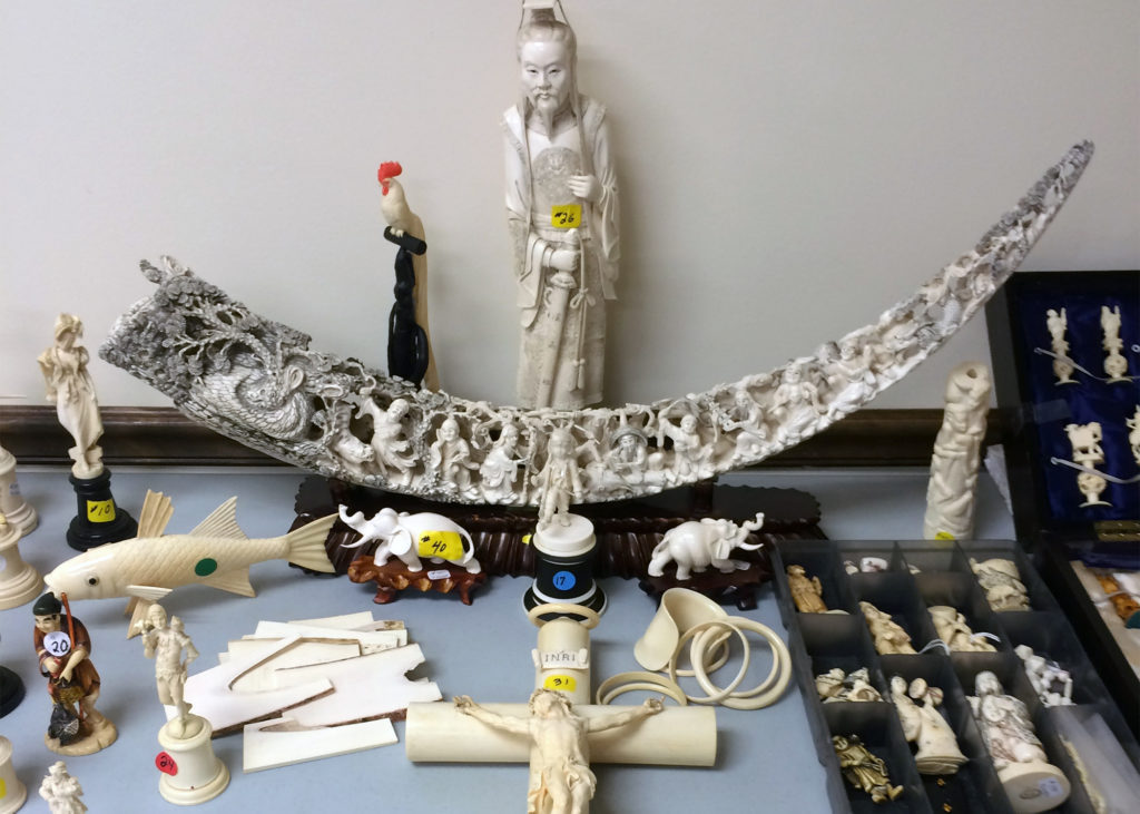 The China ivory ban started in January 2018