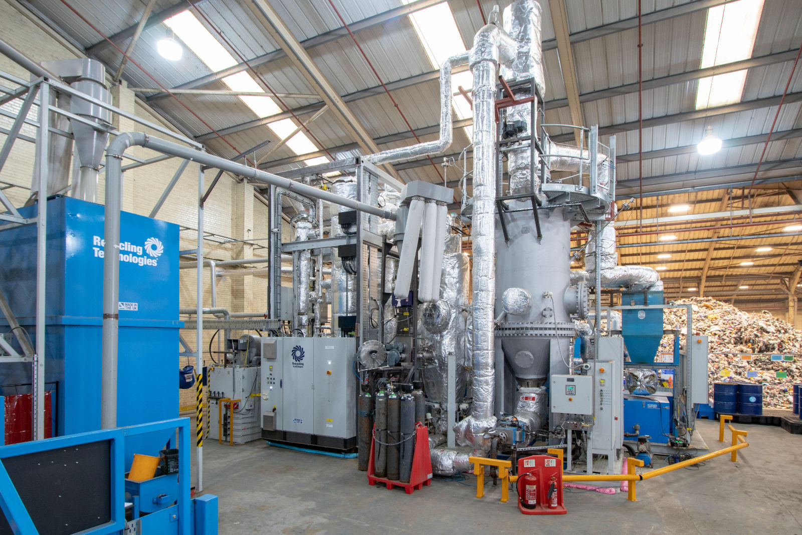 Recycling Technologies is setting up an assembly facility in Swindon to build up to 200 machines per year to meet anticipated demand for plastic recycling (Image: Recycling Technologies)