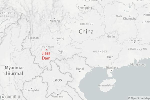 Jiasha dam map