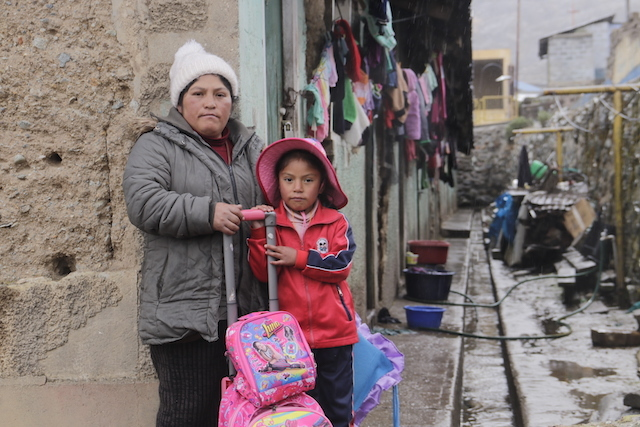 Morococha's resettlement has sparked two social conflicts: one in the new town and another among those who refuse to leave the old one (Image: Marco Alegre/Convoca)