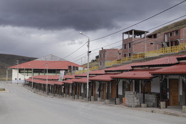 The new town built by Chinese mining giant Chinalco (Image: Marco Alegre/Convoca)