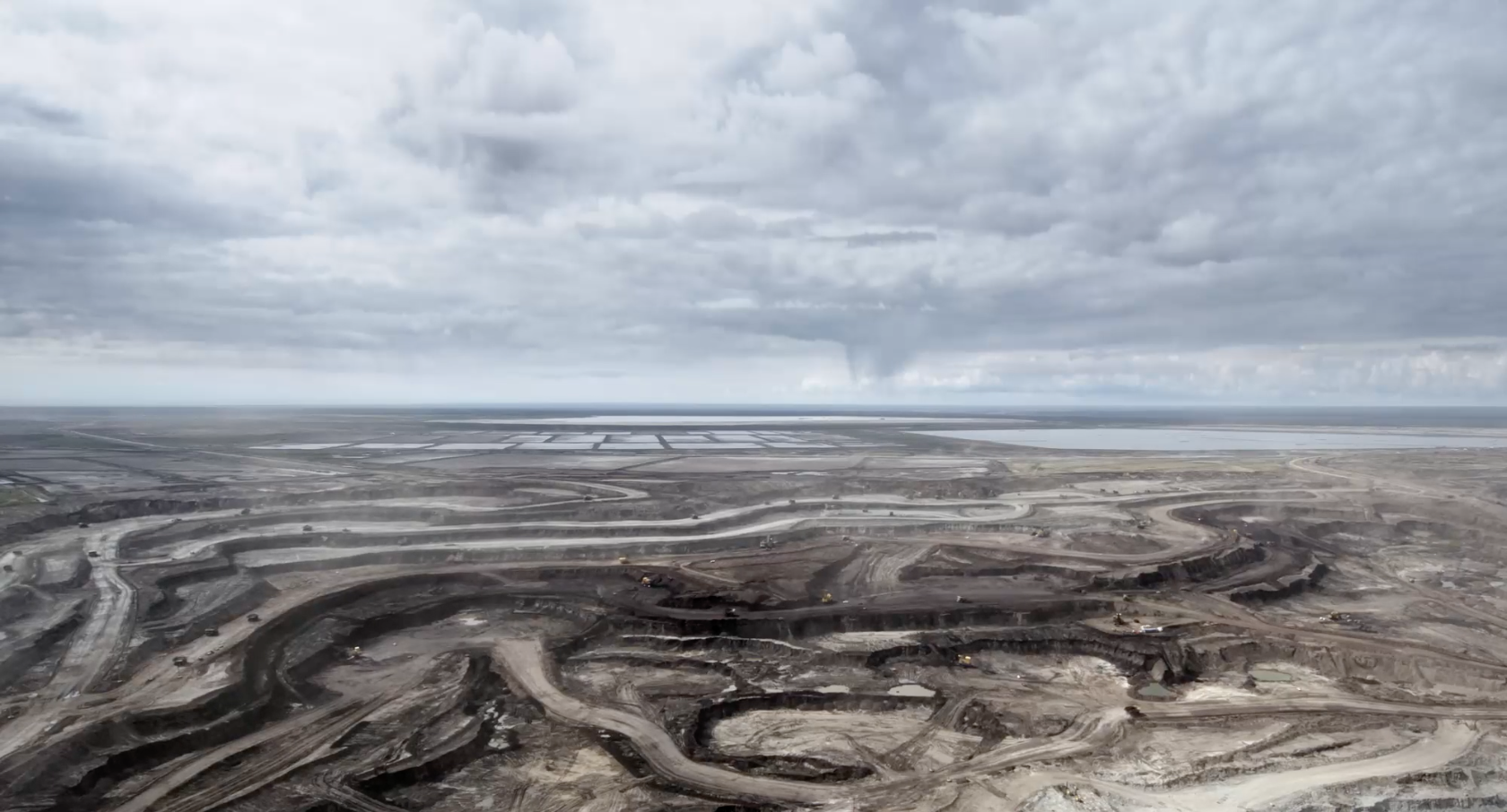 Oil sands, near Fort McKay, Canada from the documentary film Earth