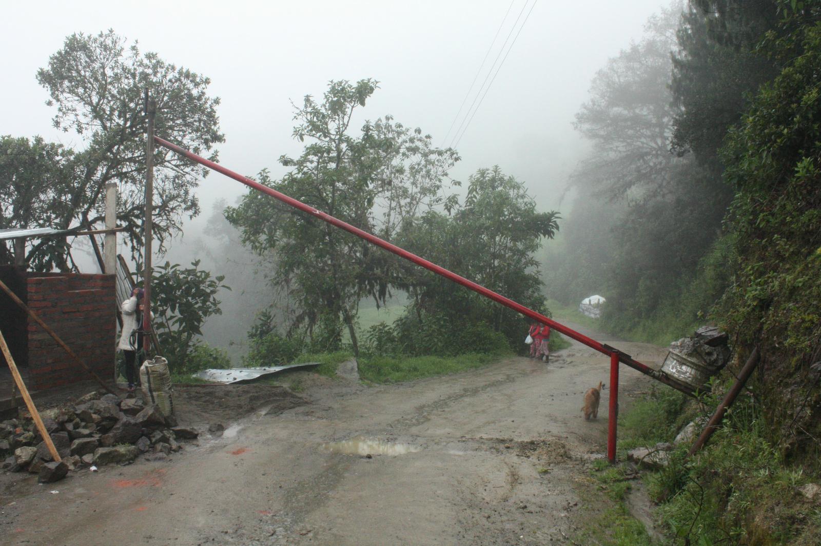 The checkpoint at San Pedro de Yumate (Image: Andrés Bermúdez Liévano)