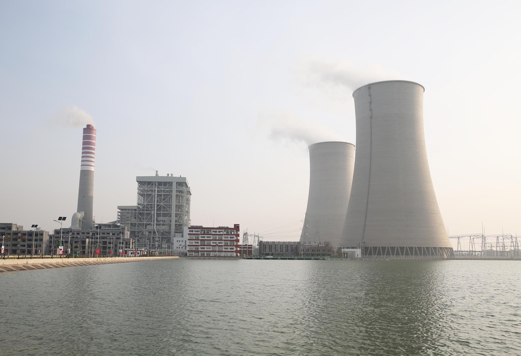 Sahiwal coal power plant in Punjab, Pakistan