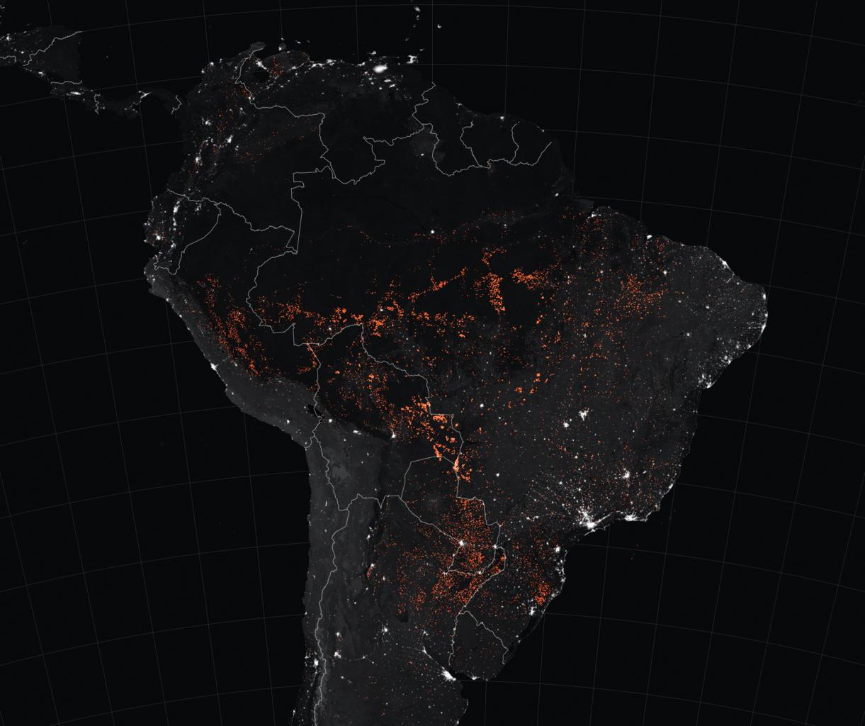 亚马逊大火2019