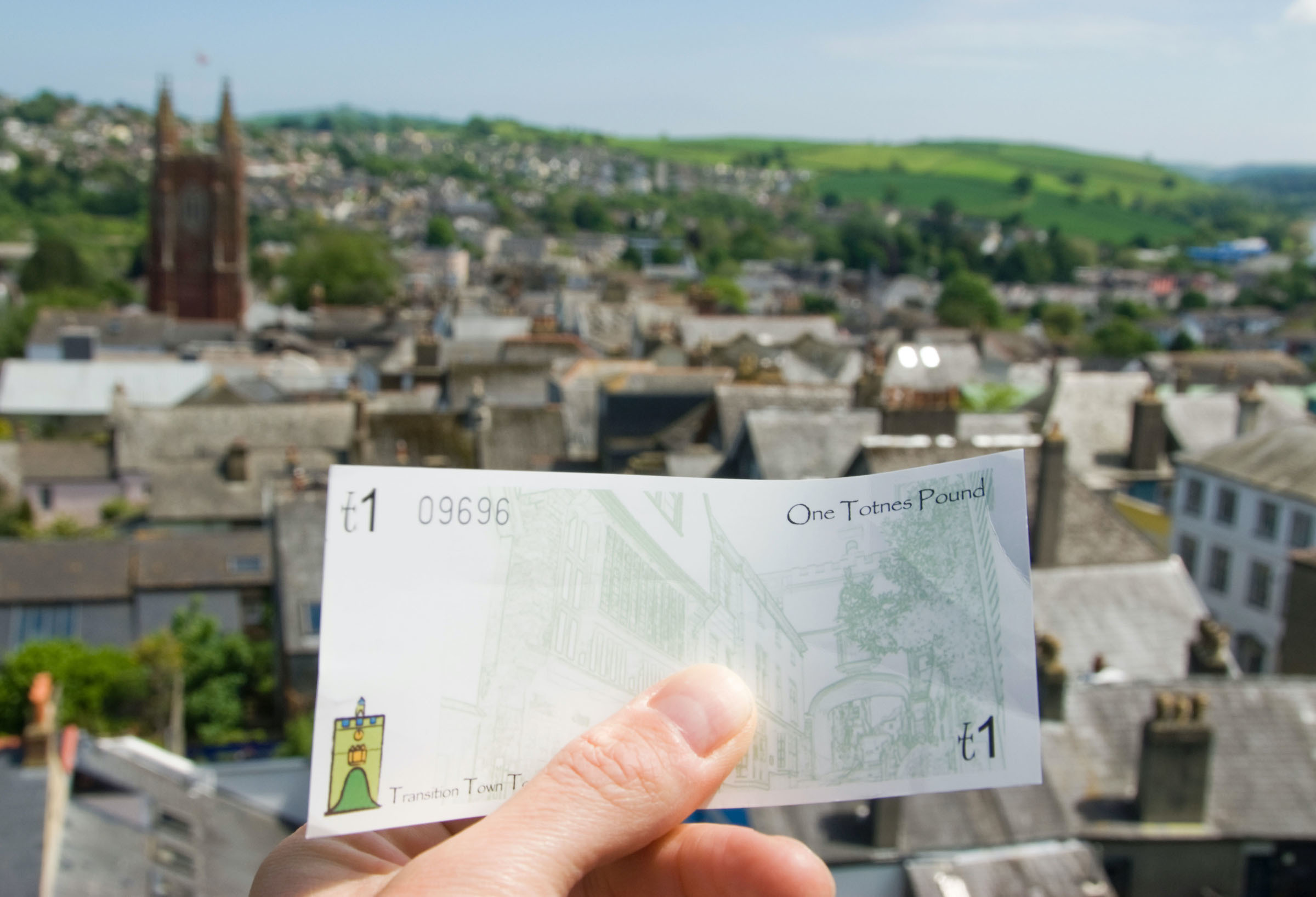 Transition Town Totnes launched the UK's first Transition Currency.