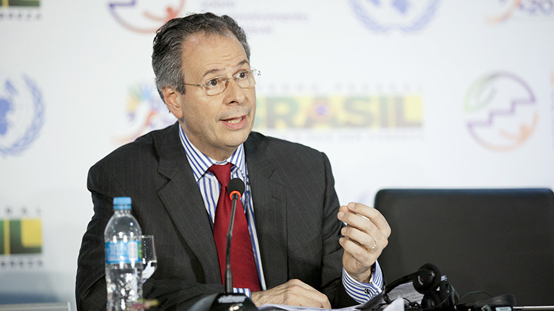 Ambassador Andre Correa do Lago, Head of Brazil Delegation to Rio+20 (Pic: UN Photos)