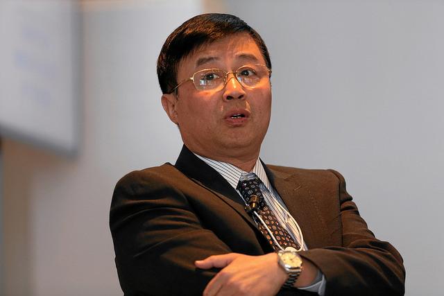 Professor Lin Boqiang, director of Xiamen University's China Center for Energy Economic Research